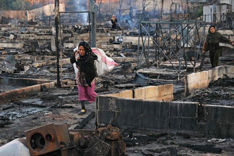 Image: LEBANON-SYRIA-REFUGEE-CONFLICT