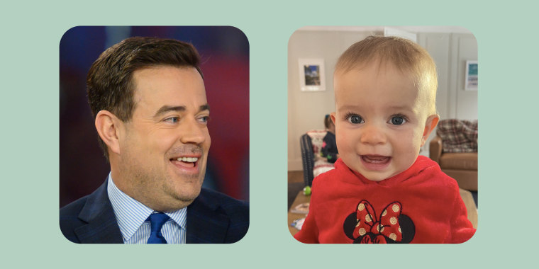 Carson Daly sharing photos from baby Goldie's first Christmas