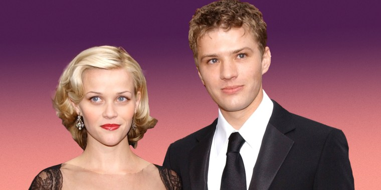 Reese Witherspoon and Ryan Phillippe during The 74th Annual Academy Awards