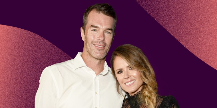 """Ryan Sutter and Trista Sutter attend WE tv Celebrates The 100th Episode Of The """"Marriage Boot Camp"""" Reality Stars Franchise And The Premiere Of """"Marriage Boot Camp Family Edition"""" at SkyBar at the Mondrian Los Angeles on October 10, 2019 in West Hollywood"""