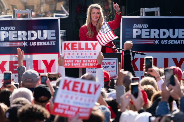 Image: Ivanka Trump Campaigns For GOP Candidates Sen. Perdue and Sen. Loeffler In Georgia