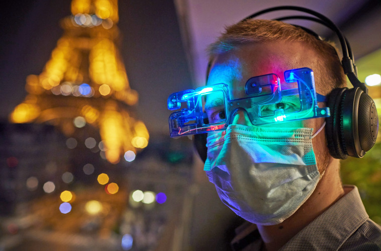 Image: New Year's Eve In Paris During The Covid-19 Pandemic