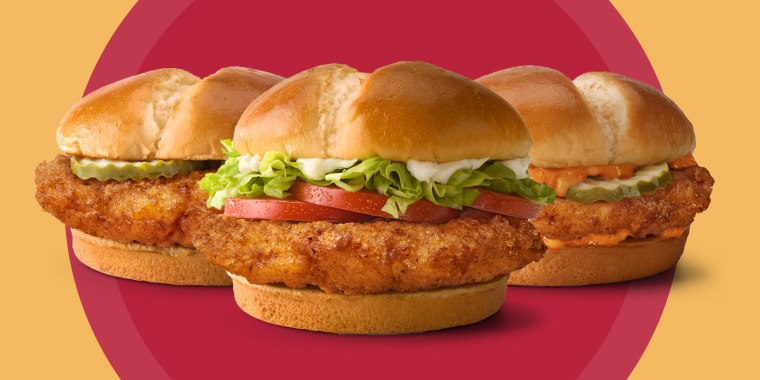 Take your pick of the Crispy, Spicy or Deluxe Chicken Sandwich.