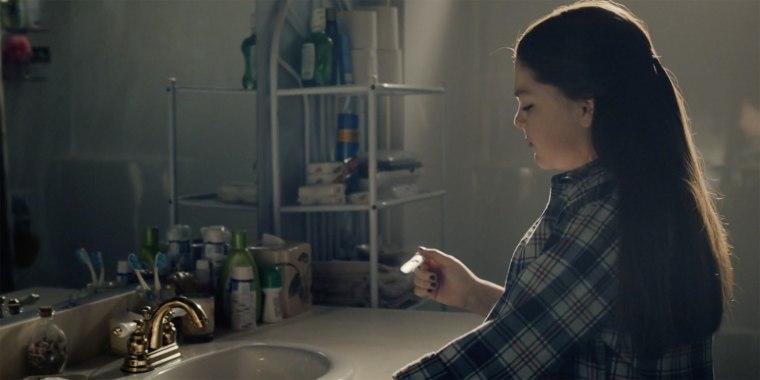 A teenage Kate took a pregnancy test — or did she?