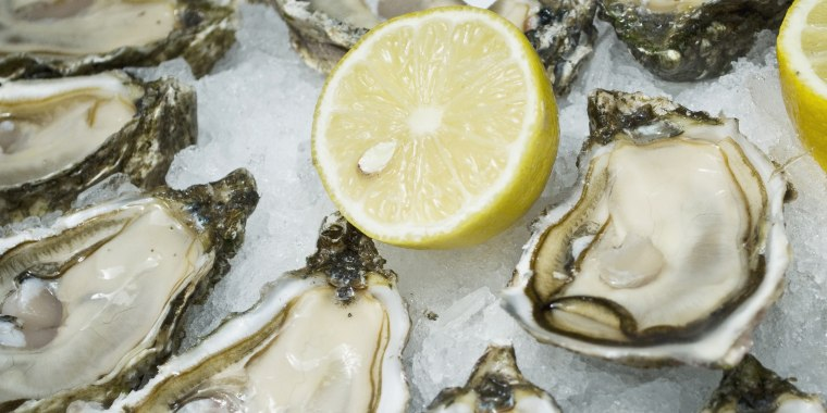 Seafood Brassiere, Oysters, Paris