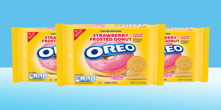 STRAWBERRY FROSTED DONUT OREO