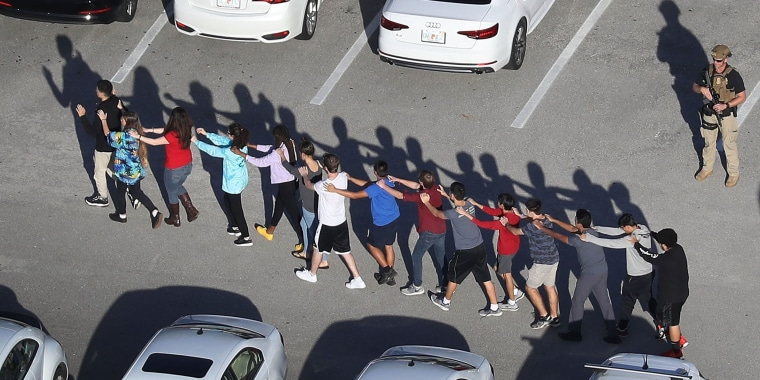 Image: *2018 Year In Focus - News* Shooting At High School In Parkland, Florida Injures Multiple People