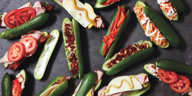 Club Sandwich Cucumber Subs