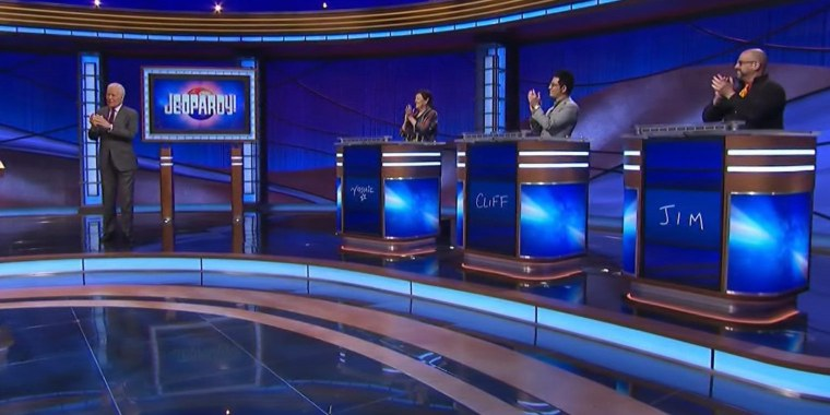 """""""Jeopardy!"""" contestants Jim Galligan, Cliff Chang and Yoshie Hill were impressed by their encounters with the late Alex Trebek."""