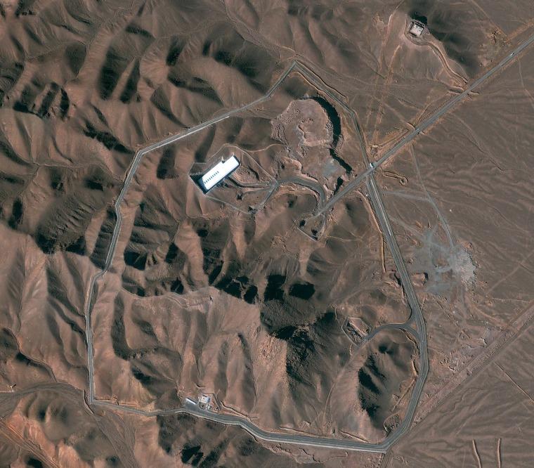 Image: Fordo facility in Iran