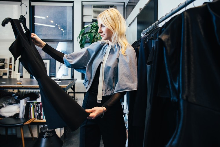 Karolina Zmarlak  says her fashion company, KZ_K, weathered the Covid-19 storm not through revenue, but through deep, unique connections with their clientele.