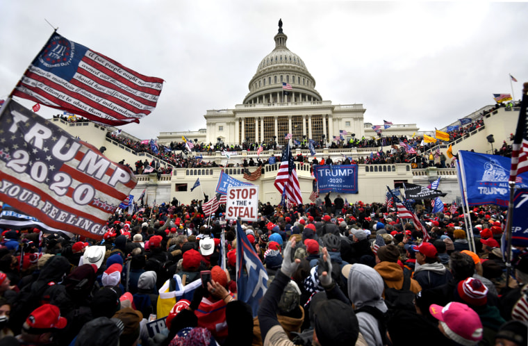 Image: Trump Supporters Storm US Capitol
