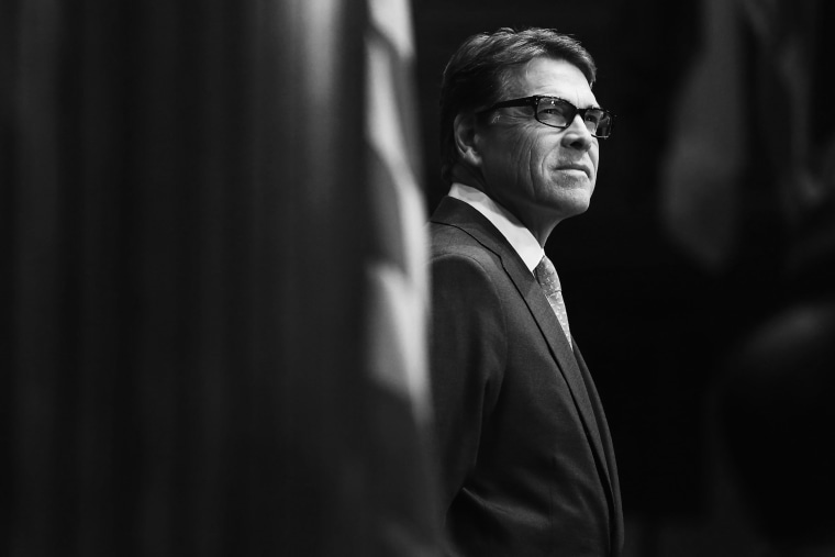 Image: Presidential Candidate Rick Perry Gives Address At National Press Club In D.C.