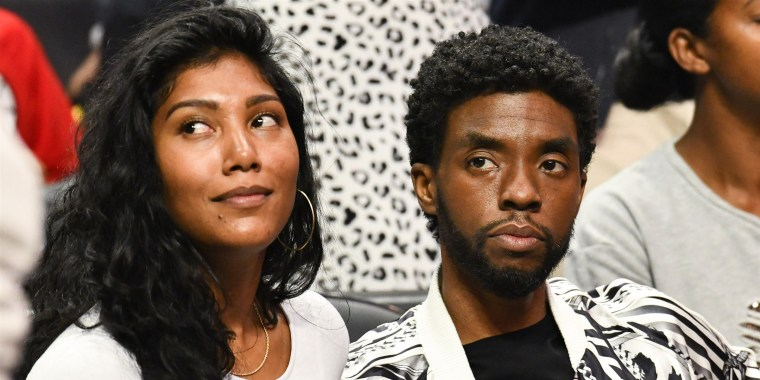 Simone Ledward Boseman, wife of the late Chadwick Boseman, made her first public remarks since the actor's passing last year.