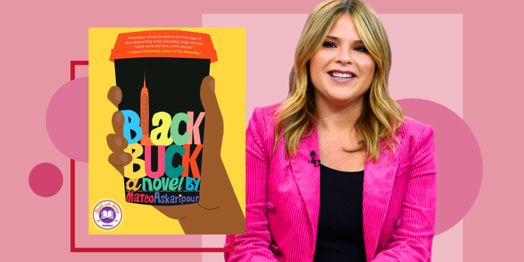 """Illustration of the book """"Black Buck"""" by Mateo Askaripour and Jenna Bush Hager"""