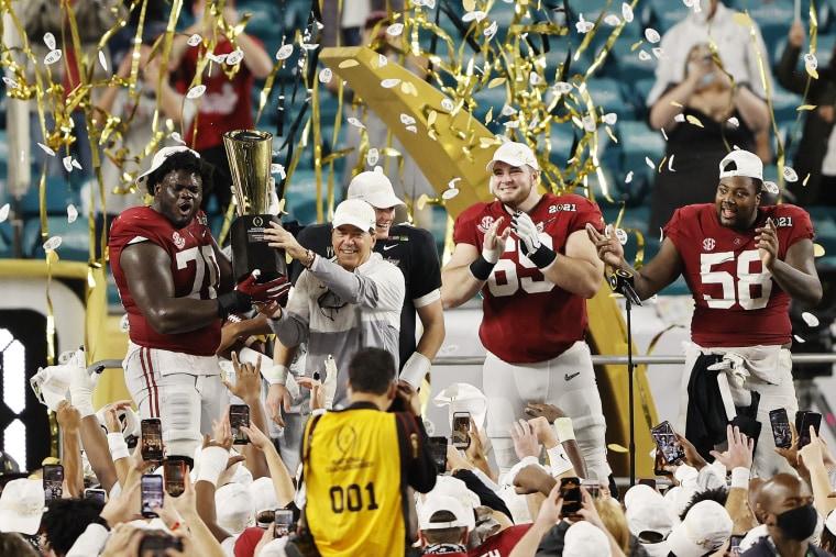 Image: Alabama Crimson Tide CFP National Championship