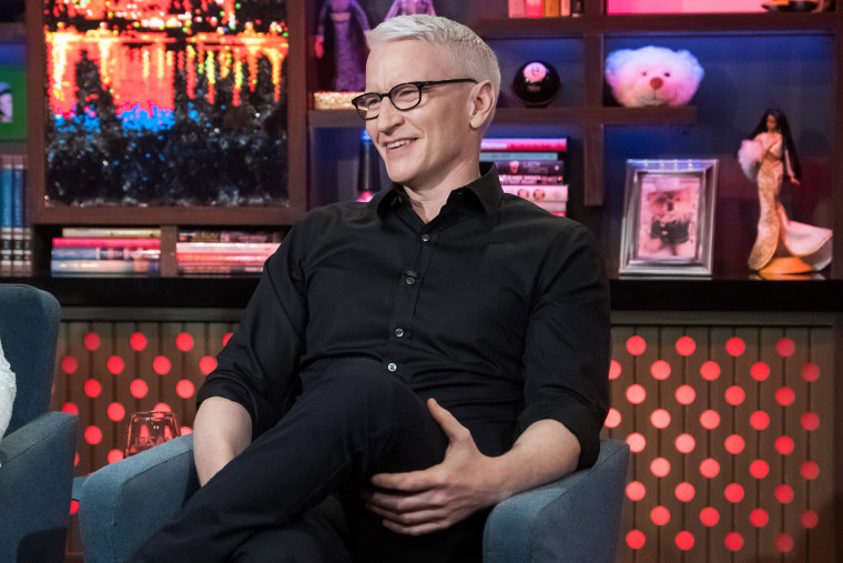 Image: Anderson Cooper Watch What Happens Live With Andy Cohen