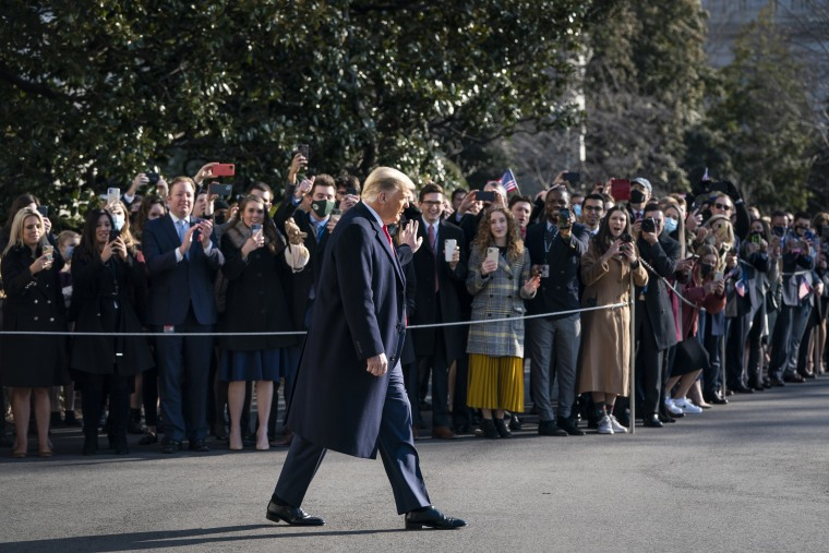 Image: President Trump Departs White House For Border Visit