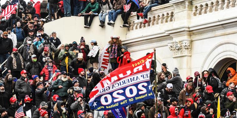 Image: Capitol mob, riot