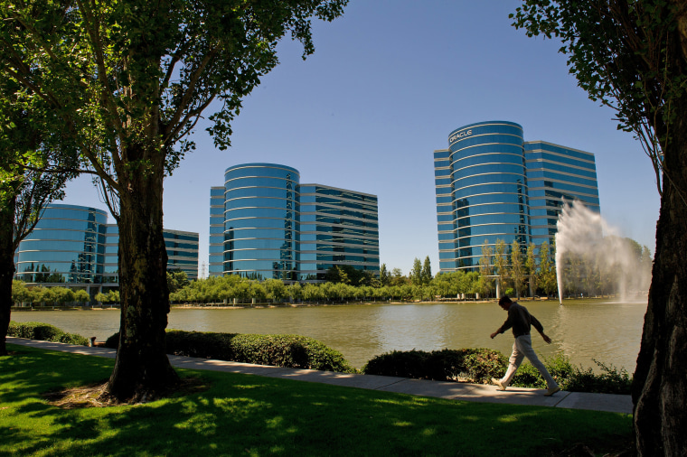 The Oracle campus in Redwood City, Calif., in 2011.