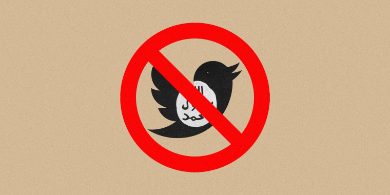 Twitter began suspending ISIS-affiliated accounts in earnest in 2014.