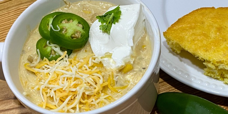 Amanda Batcher's white bean chili has won chili cook-off awards for some of her blog readers.
