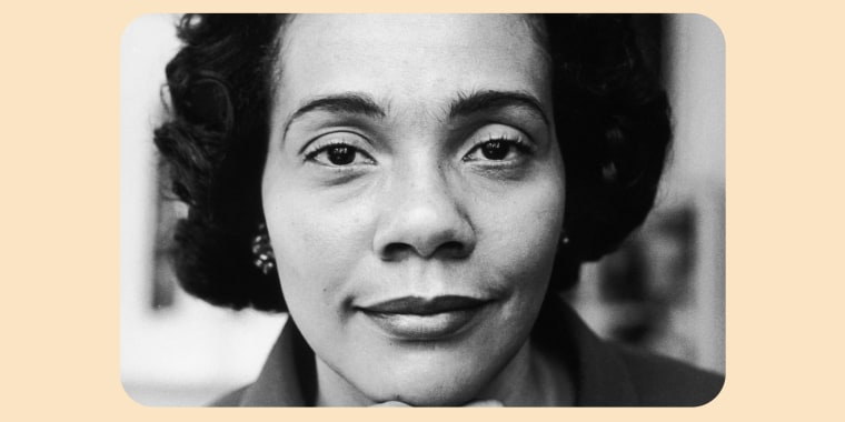 Coretta Scott King.