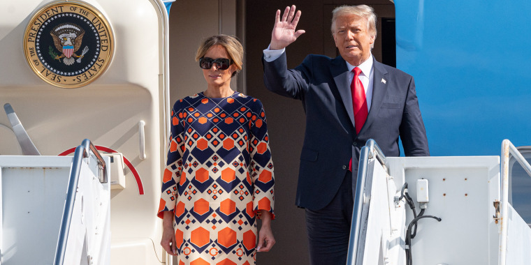 Image: Donald Trump Returns To Florida Ahead Of Joe Biden's Inauguration