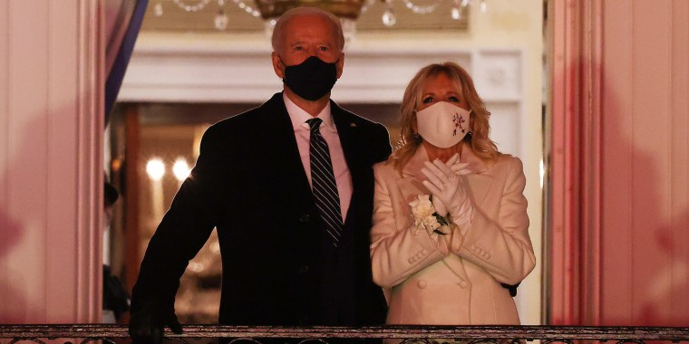 Image: BESTPIX - Joe Biden Marks His Inauguration With Full Day Of Events