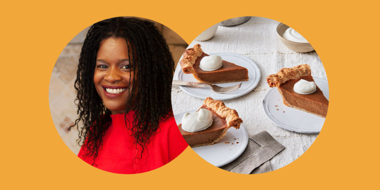 """On Martin Luther King, Jr. Day, chef Nadine Nelson hosted a virtual event with the organization """"Peace Through Pie"""" about culinary community activism."""