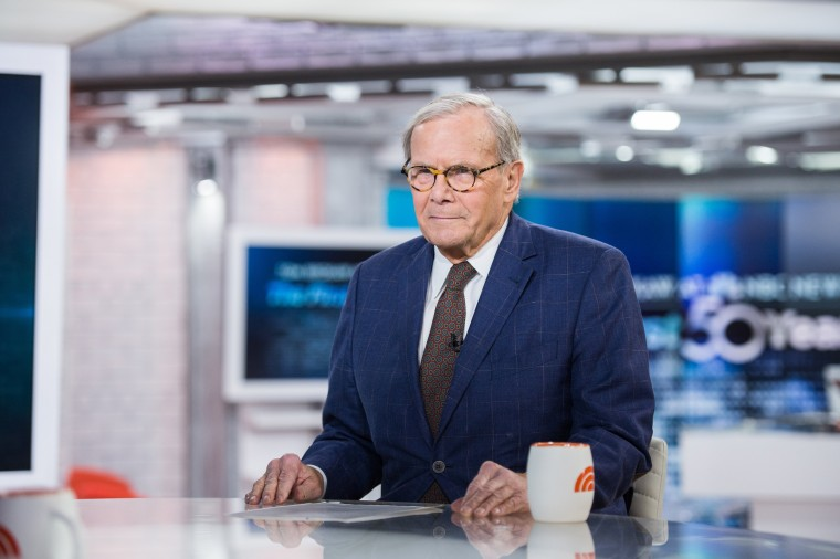 Tom Brokaw proclaims retirement after 55 years at NBC News