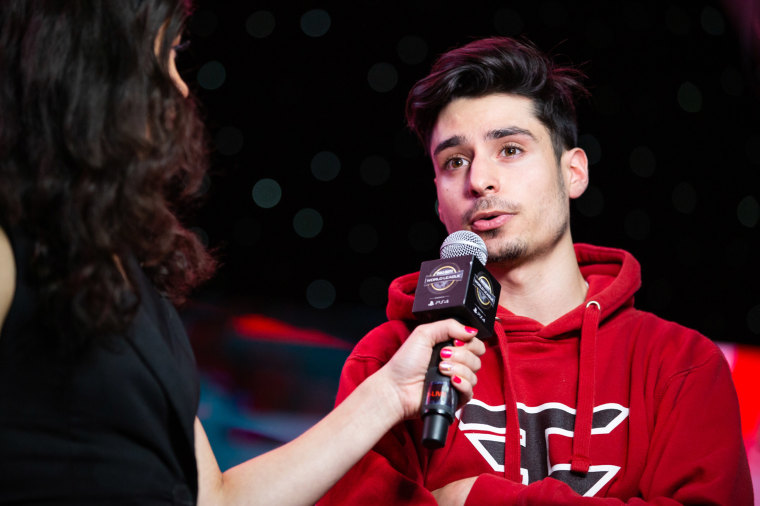 """Image: FaZe Clan's Tommy """"ZooMaa"""" Paparatto onstage at the Miami Convention Center on July 19, 2019 in Miami."""