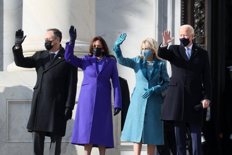 Biden, Kamala Harris arrive at Capitol for inaugural ceremony