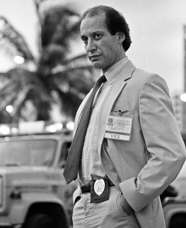 Image: Gregory Sierra in 'Miami Vice'