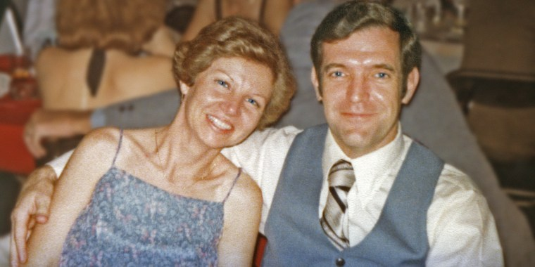 June Scobee Rodgers and Dick Scobee in 1984, two years before the Challenger's fatal mission.