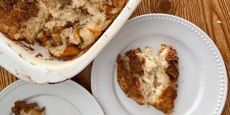 Looking for a lighter version of coffee cake? This Reddit-famous flop cake might just hit the spot.