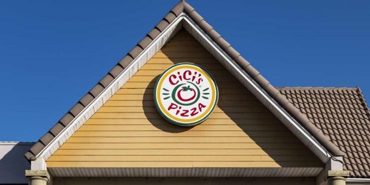 A Cici's Pizza restaurant in Buena Vista, Florida.