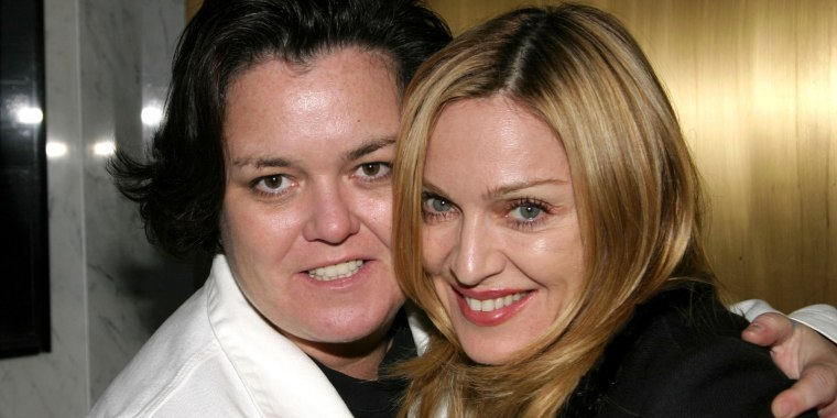 """Madonna and Rosie O'Donnell Backstage at """"Taboo"""""""