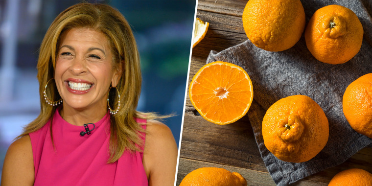 Hoda and Jenna sampled the fruit on the TODAY show Wednesday morning.