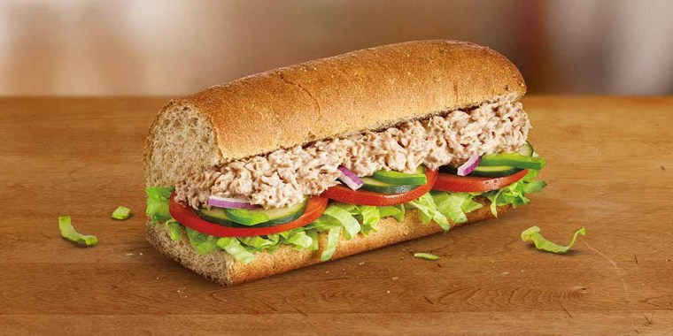 Subway denies any claims that its tuna sandwiches don't contain tuna.