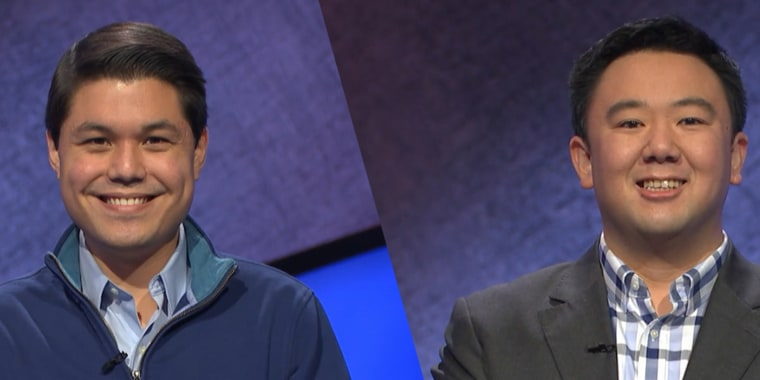 """Two returning """"Jeopardy!"""" champions, Zach Newkirk and Brian Chang, faced each other in an episode that aired on Thursday."""