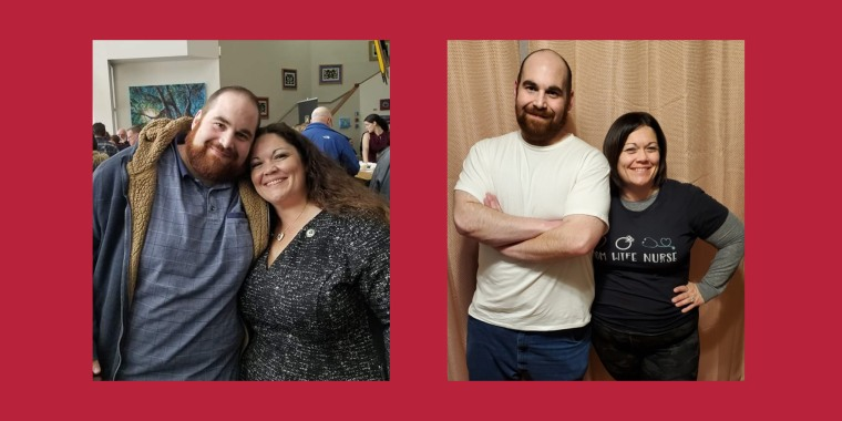 Ethan and Becky Spiezer have been motivating each other each step of the way throughout their weight loss journey.