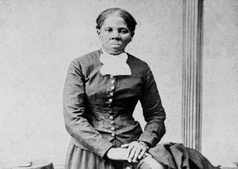 Image: Anti-slavery crusader Harriet Tubman is seen in a picture from the Library of Congress