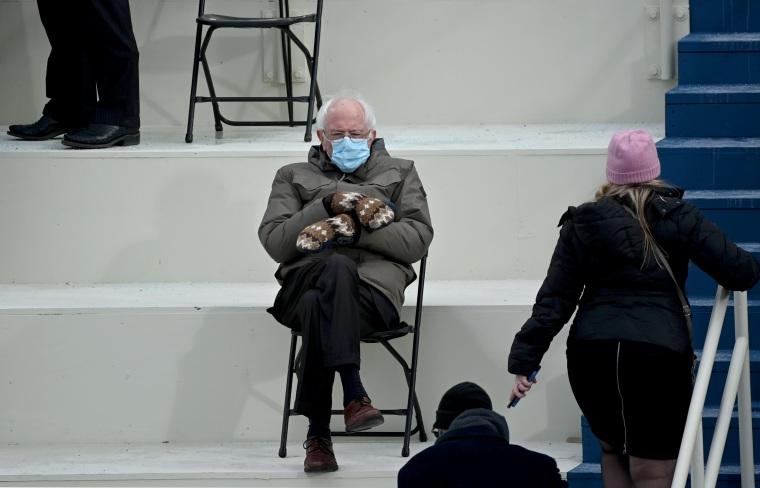 Bernie Sanders' inauguration memes help raise $1.8 million for charity