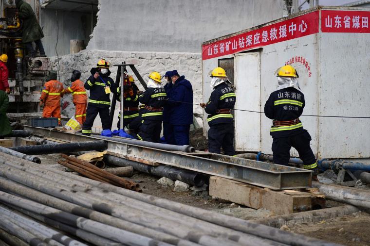 Image: CHINA-MINING-ACCIDENT
