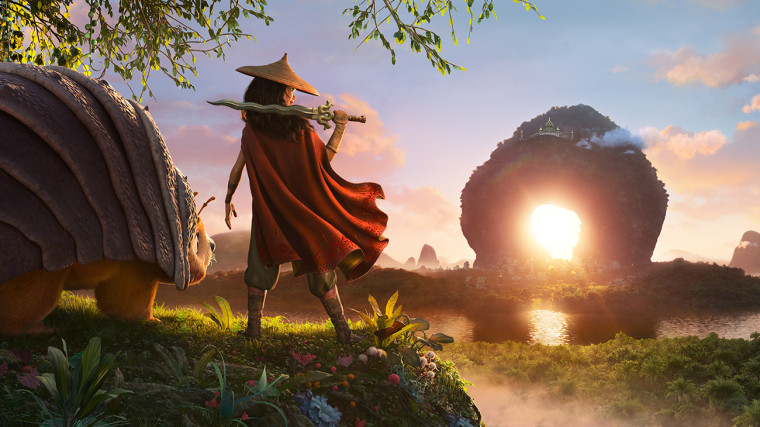 Disney's 'Raya and the Last Dragon' sparks combined reactions on Asian illustration
