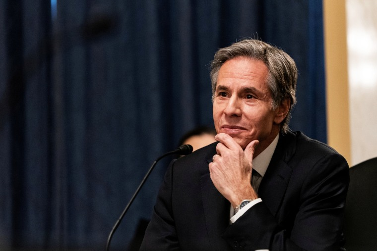 Image: FILE PHOTO: Senate panel holds confirmation hearing for secretary of state nominee