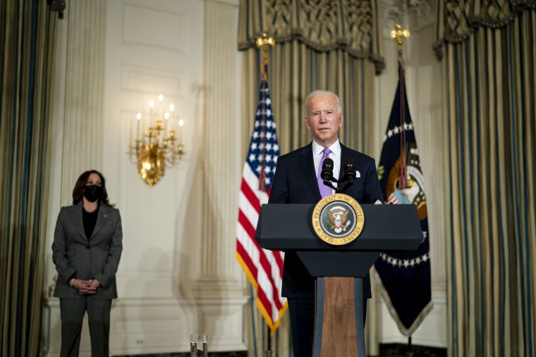 Image: President Biden Delivers Remarks On His Racial Equity Agenda And Signs Executive Actions