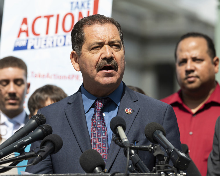 """Rep. Jesus """"Chuy"""" Garcia, D-Ill., at the Capitol in 2019."""