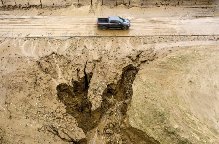 Image: California mudslides